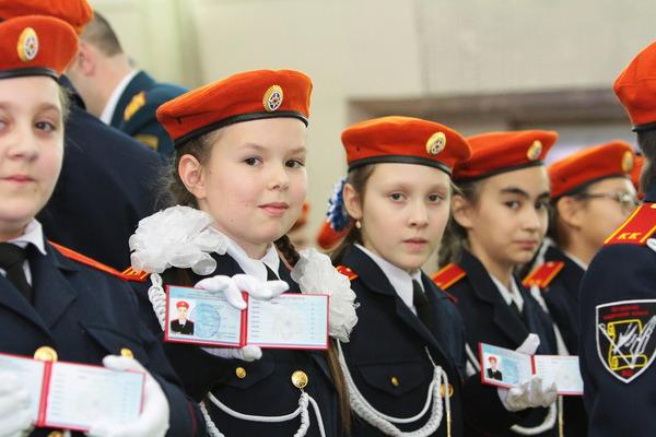 Кадетские классы Югорска насчитывают 109 воспитанниковТекс