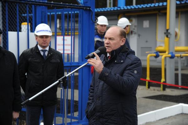 """Генеральный директор компании """"Газпром трансгаз Югорск"""" Петр Созонов отметил значимость газораспределительных станций дляжителей населенных пунктов"""