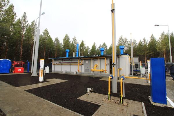 Новая газораспределительная станция длягорода Советского