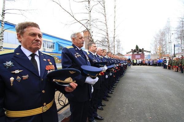 Память погибших летчиков почтили минутой молчания