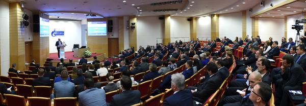 В конференц-зале головного офиса Общества «Газпром трансгаз Югорск»