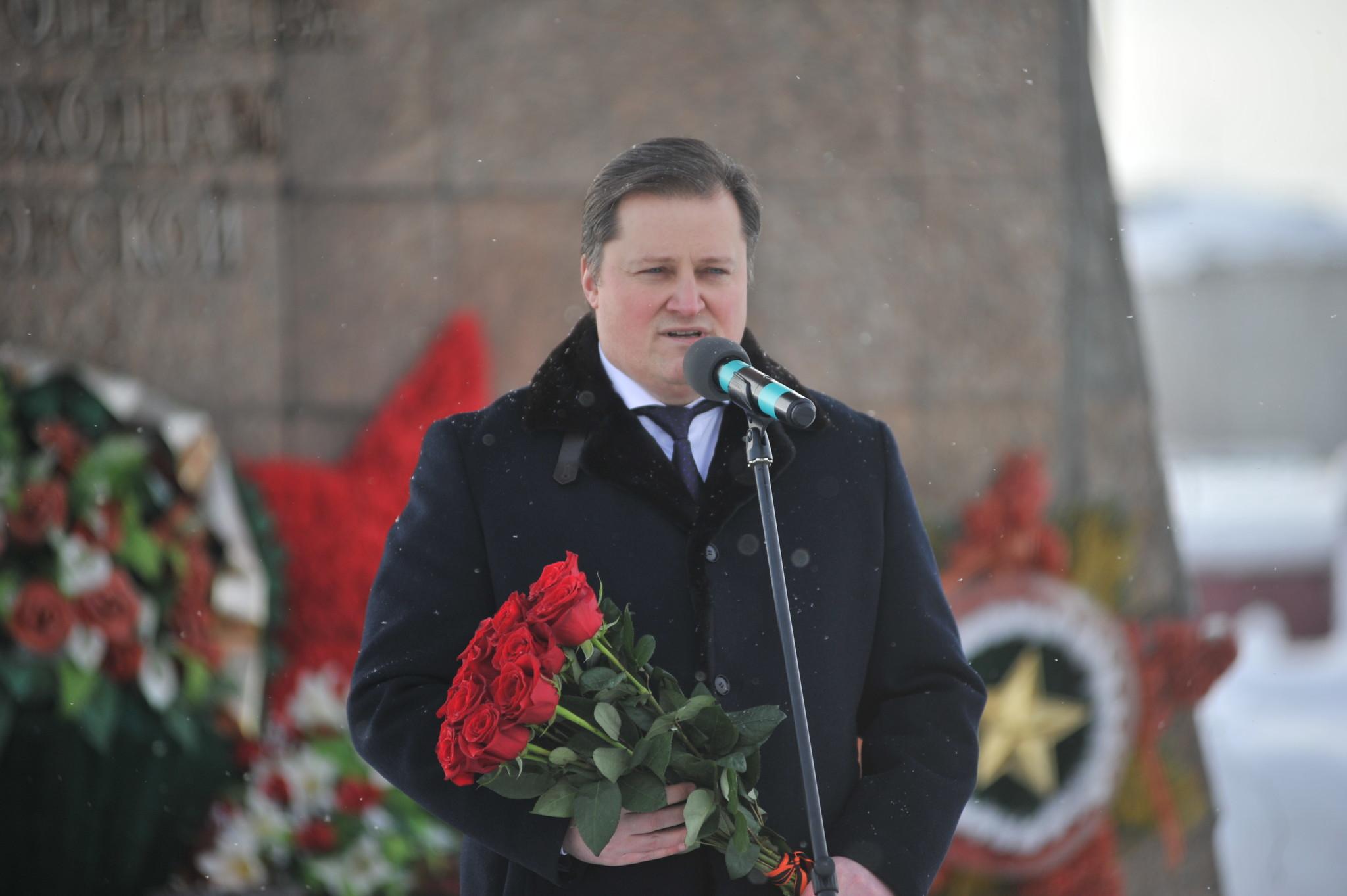 С приветственным словом к ветеранам локальных войн обратился заместитель генерального директора по управлению персоналом ООО «Газпром трансгаз Югорск» Андрей Годлевский